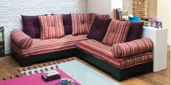Accessoirisez votre canapé d'angle avec des coussins